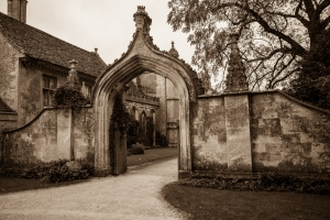 Lacock in autumn -2377