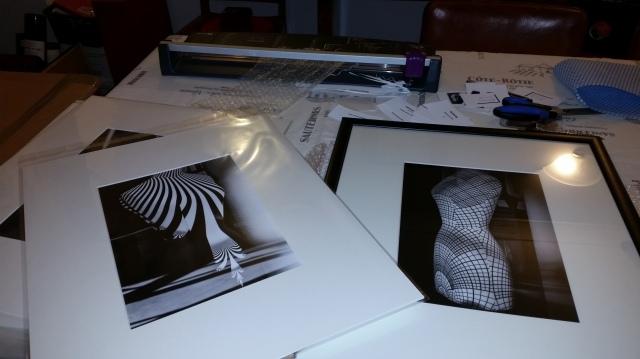 My job - mounting & framing