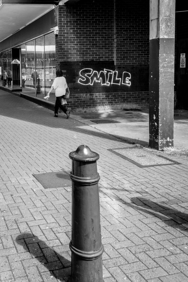 Smile graffiti