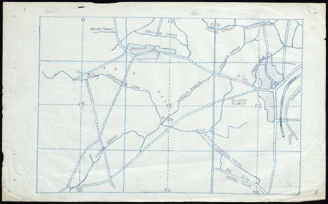12th Batt Rifle diary map 43112_2121_0-00993