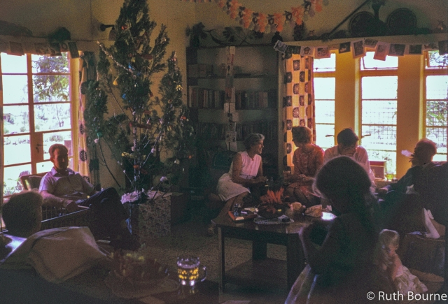 Christmas party Kuru 1962